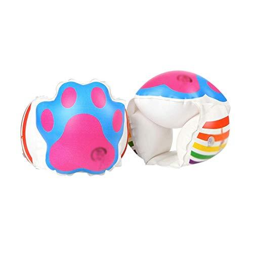 Gcxzb Schwimmreifen Bild Aufblasbarer Ring Schwimmenring Schwimmenkreis Cartoon Arm Kreishülsen Kinder Schwimmen Ausrüstung Float Armhülsen (Color : Pink)