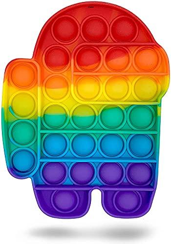 UK-STOCK | Pop Up Fidget Toy, Fidget Toys Set for Kids & Adults, Bubble...