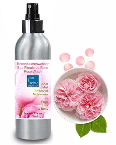 Bulgarischen Rosenwasser BIO 100 ml ● ORGANIC Therapeutische, Reinigung und Entgiftung