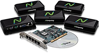 NComputing X550 X-series Zero Client Virtual Desktop (Add 5 Users to a Single Desktop) (Discontinued by Manufacturer)
