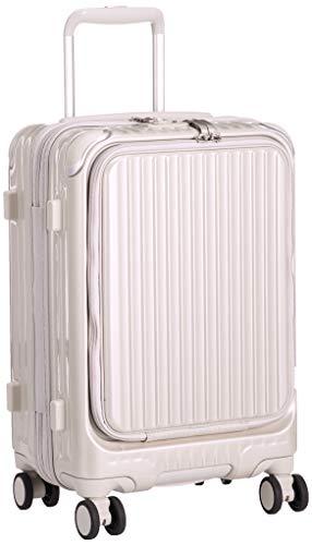 [カーゴ] スーツケース 機内持込サイズ スリムフロントオープン 多機能モデル CAT532LY 保証付 35L 48 cm 3.4kg サテンゴールド