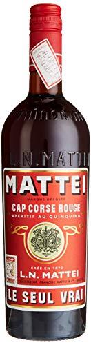 L.N. Mattei Cap Corse Rouge Aperitif au Quinquina LE SEUL VRAI (1 x 0.75 l), 750ml