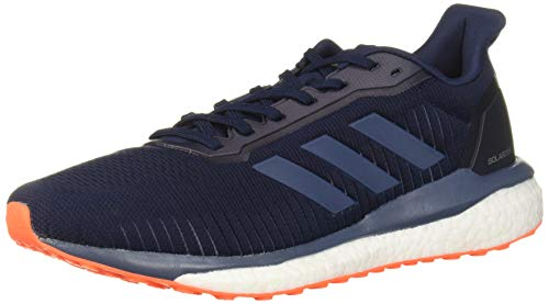 adidas Men's Drive 19 Running Shoe, Collegiate Navy/tech Ink/Solar Orange, 10 M US