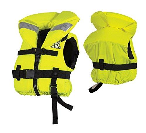 Jobe 3XS-2XS Kinder- und Jugendrettungsweste Comfort Boating YouthVest 100 Newton Rettungsweste Gelb