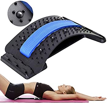 Magnetic Multi-Level Back Stretcher for Pain Relief