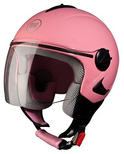 BHR 50202 Helm Demi-Jet Kinder, Rosa, 53-54 (XS)