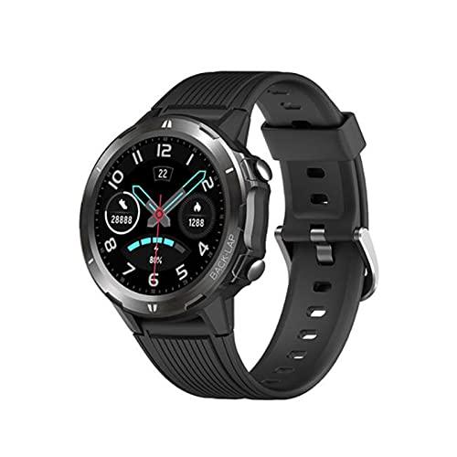 LOVOUO 2021 Nuevo Reloj Inteligente Deportivo de Tacto Completo de 1,3 (Seguimiento de Fitness a Prueba de Agua 5ATM, con Monitor de frecuencia cardíaca, podómetro de monitorización del sueño)