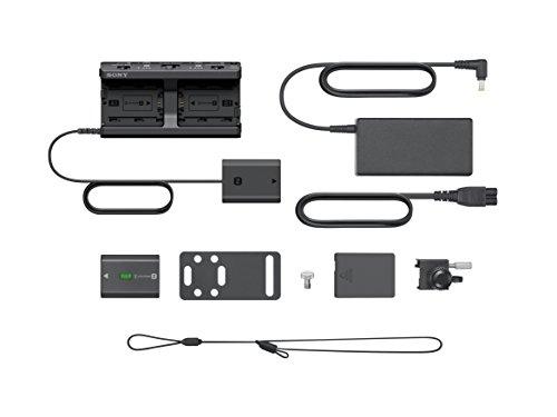 Sony HVL-F60RM Hochgeschwindigkeitsblitz (mit Funkempfänger/-bedienung, Wireless Sender und Receiver) schwarz & NPA-MQZ1K (Vierfachladegerät für Akkus Z und W-Serie, inkl. 2 Z-Akkus NP-FZ100)
