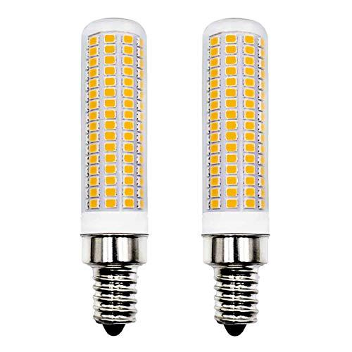 E14 LED Lampe 1160Lm 8W Ersetzt 100W 120W Warmweiß 3000K AC 220V 230V Schlafzimmer Wandleuchte Wohnzimmer Kronleuchter Tischleuchte Leuchtmittel Klein Wandlampe 2er Pack [MEHRWEG]