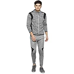 Campus Sutra Men Hooded Tracksuit