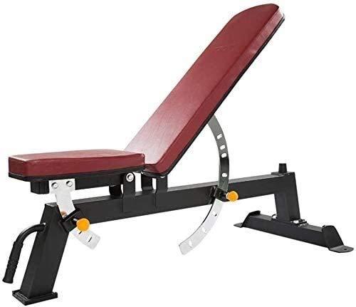 ZYLHC Ajustable banco del entrenamiento, Banco de ejercicio ajustable de múltiples funciones profesional de la aptitud Silla Sit-up asiento banco Training Inicio equipo de la aptitud de 500kg Teniendo