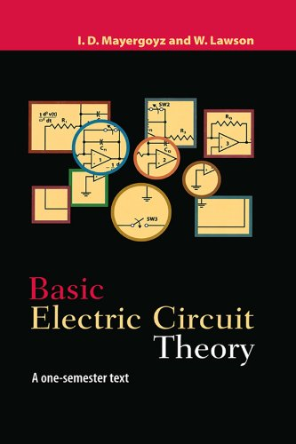 Basic Electric Circuit Theory: A One-Semester Text (English Edition) eBook: Mayergoyz, Isaak D., Lawson, W.: Amazon.es: Tienda Kindle