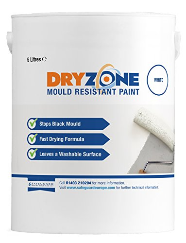 Dryzone Anti Mould Paint 5L – Mould Resistant for 5 Years (White)