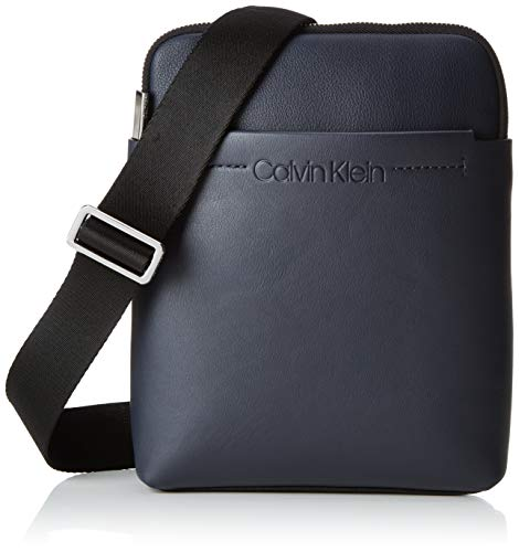 Calvin Klein Flex 1 G Ipad Flat Crossover - Borse a spalla Uomo, Nero (NAVY), 3x25x20 cm (B x H T)