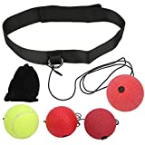 zhoul 3Pcs/Set Bounce Boxing Ball Head-Mount Bounce Response Ball Boxing Training Accesorios