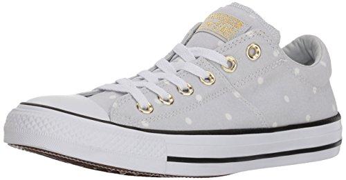 Converse Damen Madison Mini Dots Low Top Turnschuh, Pure Platin/Gold/Weiß, 37.5 EU
