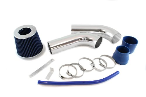 ST Racing Blue Short Ram Air Intake Kit + Filter 02-08 for Dodge Ram 1500 3.7L V6 1500/2500/3500 5.7L HEMI V8