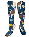 N/A Calcetines de compresión para Mujer, diseño de San Bernardo