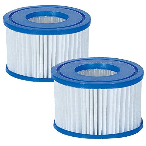 San Marco 2 cartucce di ricambio per pompa con filtro per piscine bestway tipoVI 58239