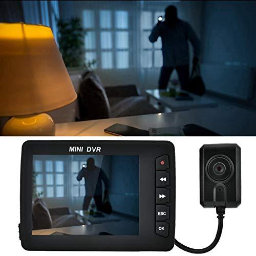 Zhjvihx Grabador Inteligente, cámara de grabación de Video Mini DVR, para cámaras de vigilancia de automóviles Equipo de automóvil Herramienta de automóvil(European Standard 100-240V, Transl)