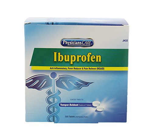 First Aid Only J432 PhysiciansCare Ibuprofen
