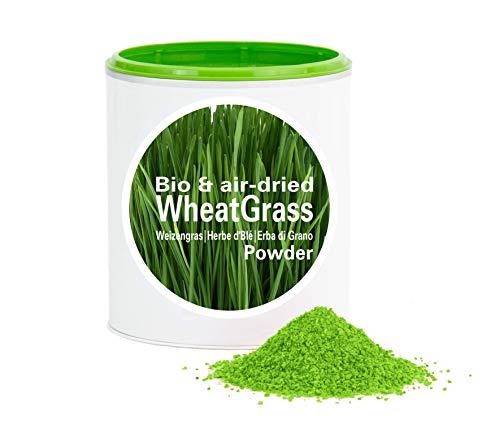 Hierba De Trigo en Polvo - Embalaje XXL 1000g|rica en vitamina|biológico|vegano|crudo|pura nutrición|no aditivo|Good Nutritions
