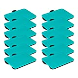 LapGear Compact Lap Desk - Turquoise - Fits up to 13.3 Inch Laptops - Pack of 12 - Style No. 43019
