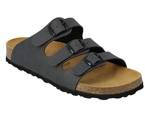 Lico Bioline Lady Pantofole piatte da donna, Grigio (Grigio 7200), 38 EU
