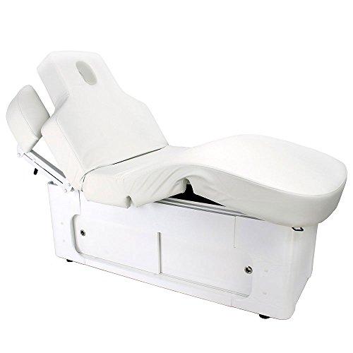 Tumbona eléctrica para tratamiento 003361-3H, color blanco