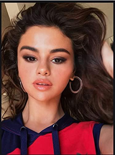 JCYMC Rompecabezas De 1000 Piezas Actriz Y Estrella Selena Gomez Carteles De Madera Juguetes para Adultos Juego De Descompresión Vq8Zw