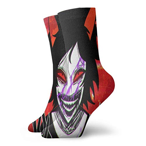XCNGG Socken Sportsocken Schlauchsocken Kiri Shima Eijiro Adult Unisex Novelty Warm 3d Printed Short Socks Mens Woman Casual Socks