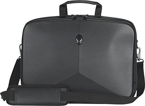 Mobile Edge Alienware Vindicator Black Laptop Briefcase, 17 Inch, ScanFast TSA Checkpoint Friendly AWVBC17