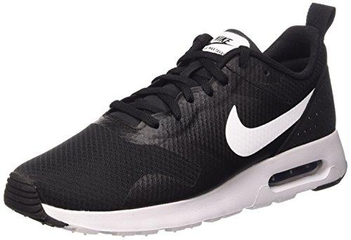 Nike Air MAX Tavas, Zapatillas Hombre, (Black/White/Black), 39 EU