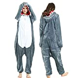 YQ&TL Pijamas Unisex Anime Cosplay Equipo de Disfraces de Halloween niños Adultos Masculinos y Femeninos Pijamas de una Pieza de Animales A L