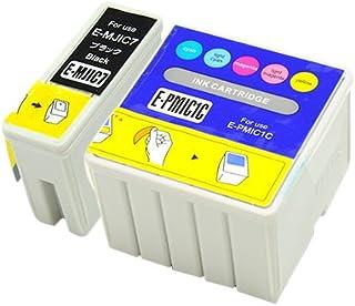 【インク革命製】 エプソン用 MJIC7+PMIC1C (ブラック+カラーセット) EPSON対応 互換 インクカートリッジ