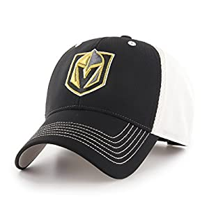 OTS NHL Vegas Golden Knights Men's Sling All-Star Adjustable Hat, Team Color, One Size from OTSRE Old Time Sports Replenishment