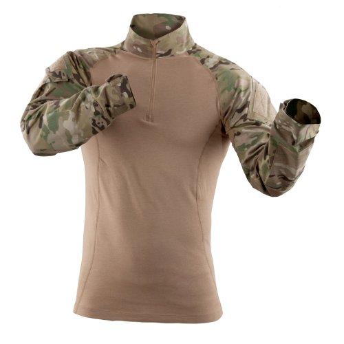 5.11Herren-TDU-Rapid-Assault-Shirt, langärmelig Medium Multi Camo