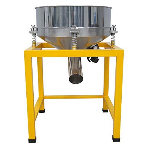 YUCHENGTECH Industrielle Vibrationssiebmaschine Automatischer Siebschüttler Pulver Flüssigkeits-Screening 19,69 in 2-500 Maschen Optional 220 V 70 W