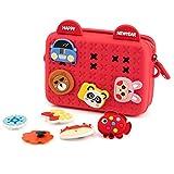 Girl Purse, Cute Toddler Crossbody Shoulder Bag Kids Gift Birthday Present for kid Teen Girls Soft Red