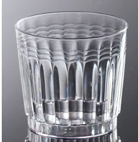 EMI Yoshi EMI-RETR9 9oz Clear Plastic Rocks Brille 20 Pro Pack - Packung mit 240