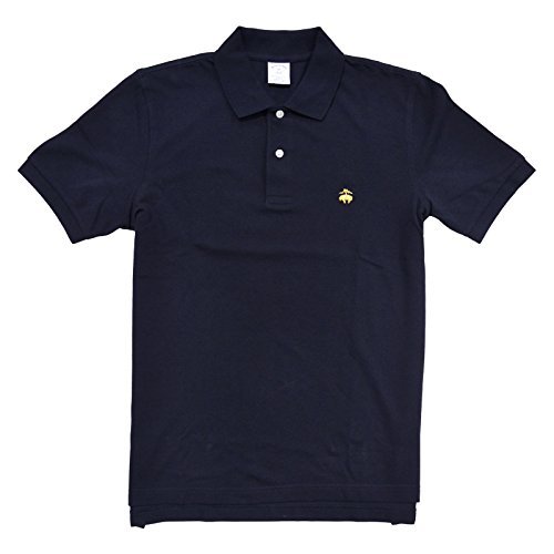 Brooks Brothers Golden Fleece Slim Fit Performance Polo Shirt (L, Navy)