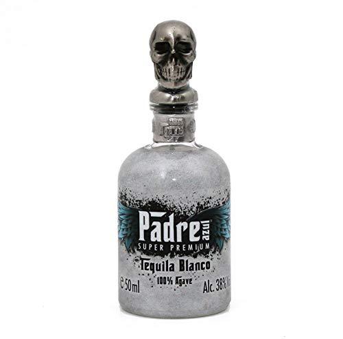 Padre Azul Super Premium Tequila Blanco Agave Tequila (3 x 0.05 l)