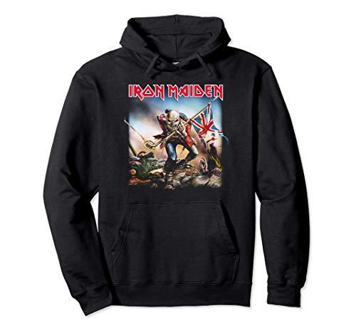Iron Maiden - Trooper Felpa con Cappuccio