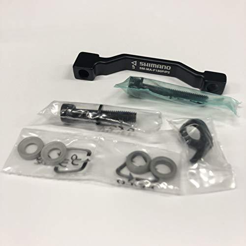 Shimano Ersatzteile Adapter Post für vorne Schwarz schwarz 18 cm