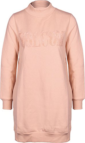 Volcom Burn City Flce Dress Mellow Rose S