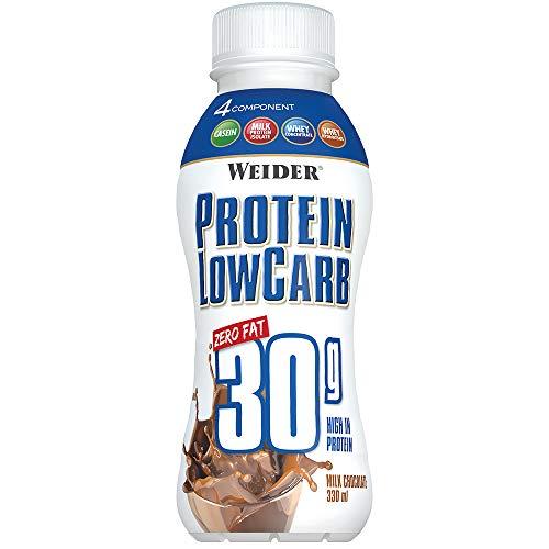 Weider Protein Low Carb Schokolade, 6er Pack (6 x 330 ml)