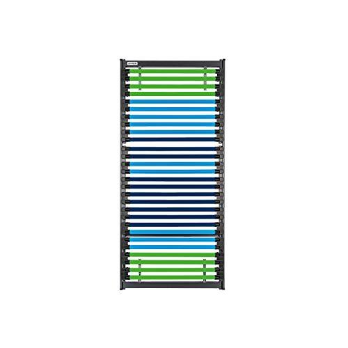 GOODSIDE BedBooster™ Premium - Lattenrost aus Fiberglas mit 28 individuell anpassbaren Leisten (90 x 200 cm)