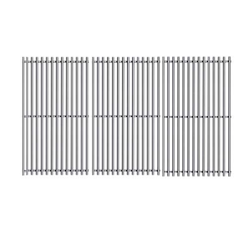 ZLjoint 19 1/4 in Cooking Grates for Brinkmann 810-8501, Jenn Air 720-0062,720-0100,720-0337, Charmglow, Costco Kirkland, Nexgrill Gas Grills, Stainless Steel Grill Cooking Grids, 3 Pack