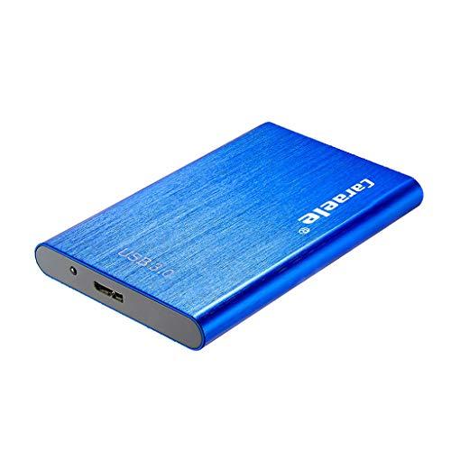 KESOTO 500 Go 1To 2To 2.5 Pouces Disque Dur Externe Mobile HDD Compacte pour Ordinateur Portable - Bleu 2T