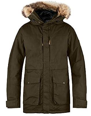 Fjallraven Men's Barents Parka M Sport Jacket, Green, L